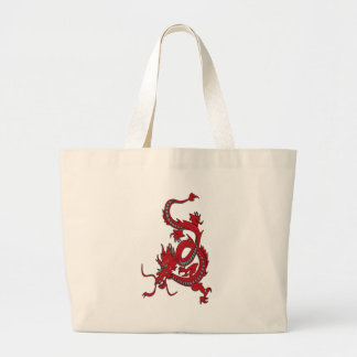 Red Dragon - Year of the Dragon Large Tote Bag