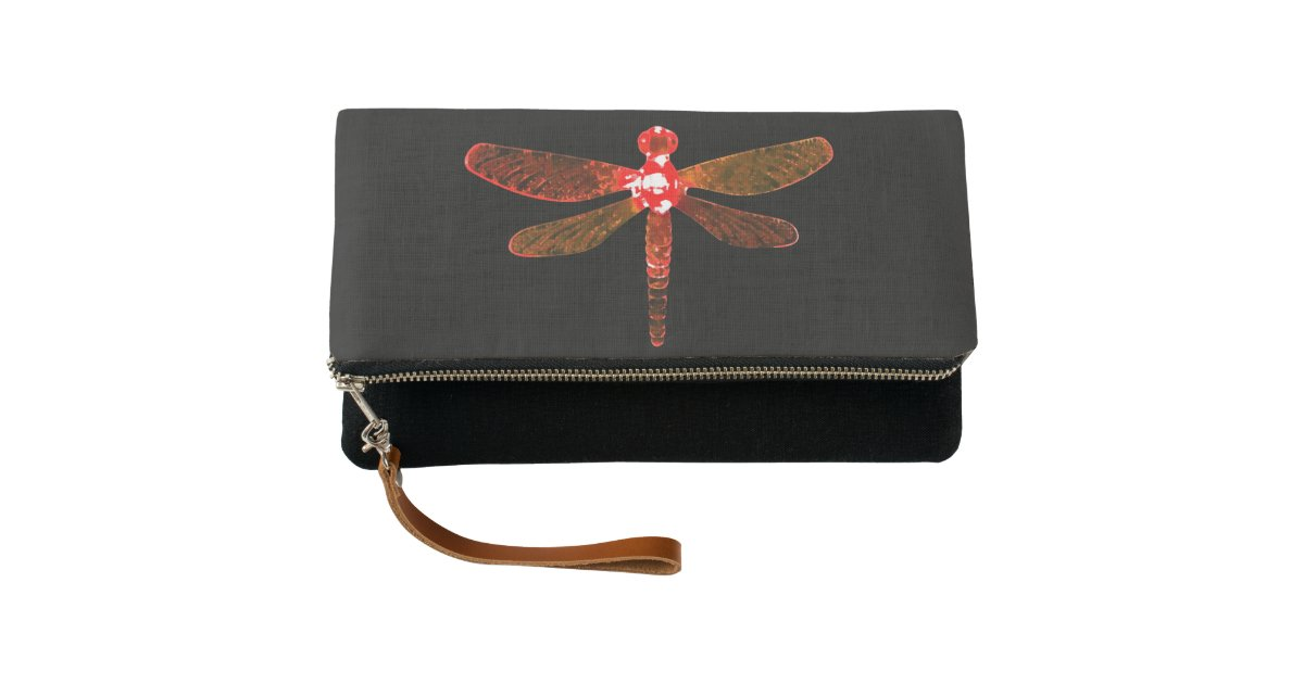Red Dragonfly Clutch