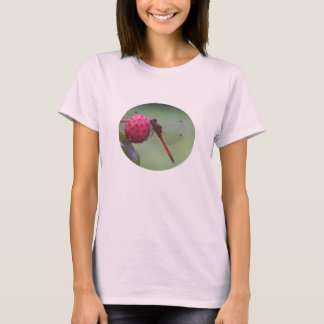 Red Dragonfly Nature T-Shirt