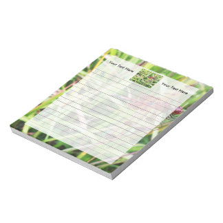 Red Dragonfly Notepad
