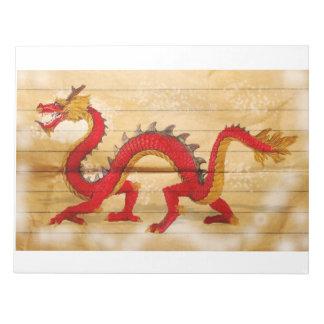 red dragoon notepad