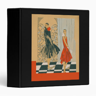 Red Dress Black Dress Vintage French Fashions Binder