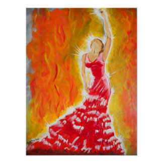 Red Dress Posters
