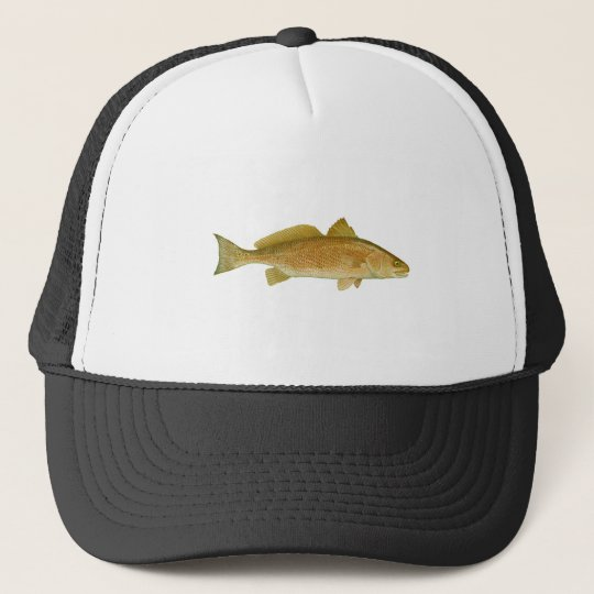 Red Drum Trucker Hat