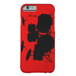 Red Drum Vector iPhone 6 Case