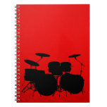 Red Drum Vector Note Books