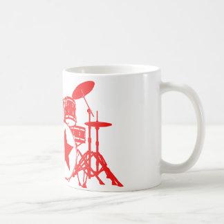 Red Drums Coffee Mug