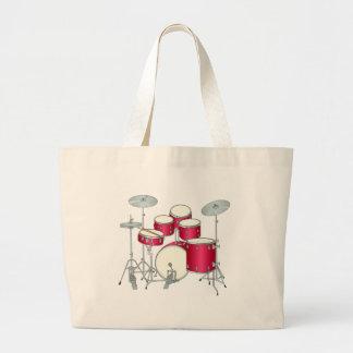 Red Drums Tote Bag