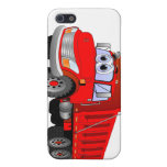 Red Dump Truck Cartoon iPhone 5 Cover