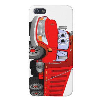 Red Dump Truck Cartoon iPhone 5 Cover