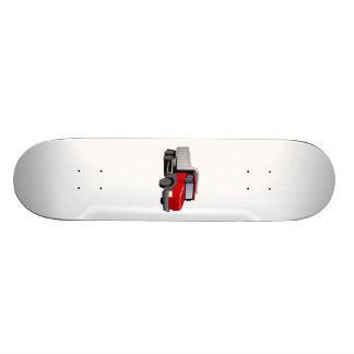 Red Dump Truck Custom Skateboard