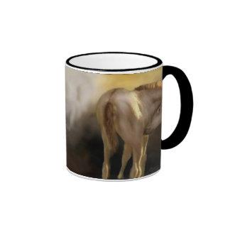 Red Dun Filly Plain Mug