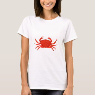 Red Dungeness Crab Logo T-Shirt