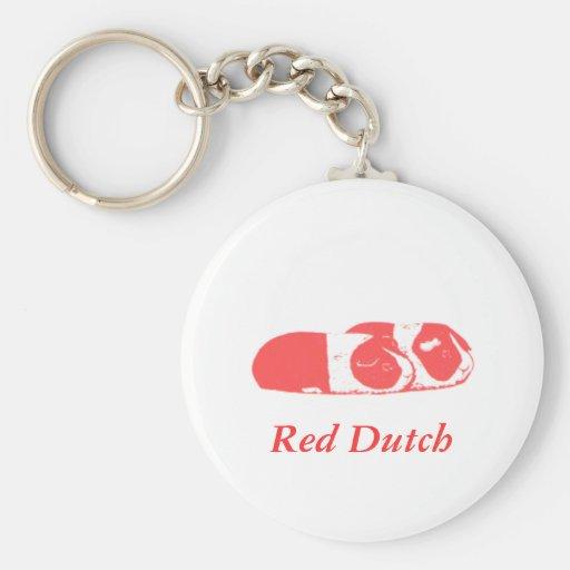 Red Dutch Keychain