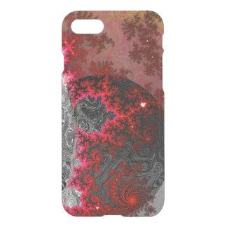 Red Dwarf Fractal Galaxy Vivid Galactic Pattern iPhone 8/7 Case
