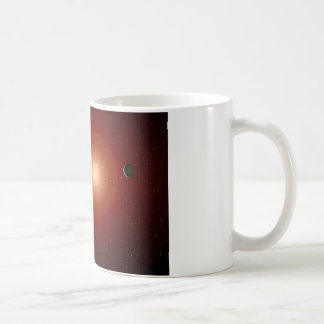 Red Dwarf Star and Exoplanets Coffee Mug