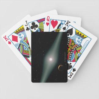 Red Dwarf Star AU Microscopii Bicycle Playing Cards