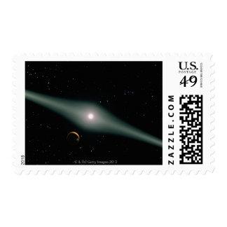 Red Dwarf Star AU Microscopii Postage
