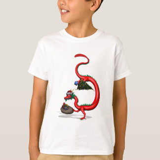 Red Eastern Dragon T-Shirt