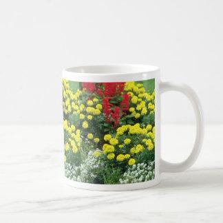 Red Eastern Flowers In Bloom flowers Classic White Coffee Mug