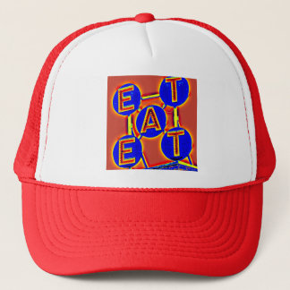 red eat hat