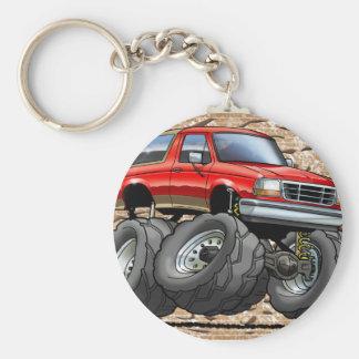 Red Eddie Bauer Bronco Keychain