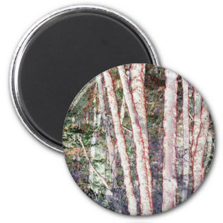 Red-Edged Trees Magnet