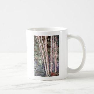 Red-Edged Trees Coffee Mug