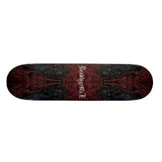 red edition skateboard deck