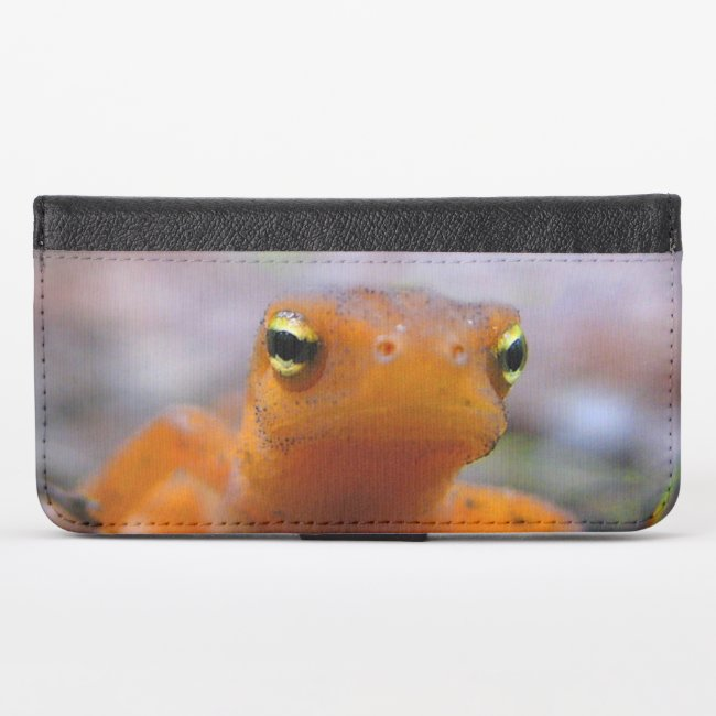 Red Eft iPhone X Wallet Case