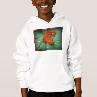 Red Eft/newt Hoodie