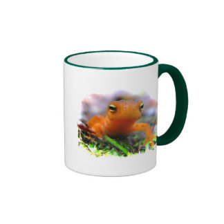 Red Eft Ringer Coffee Mug