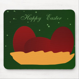 Red Eggs for Easter Mouse Pad