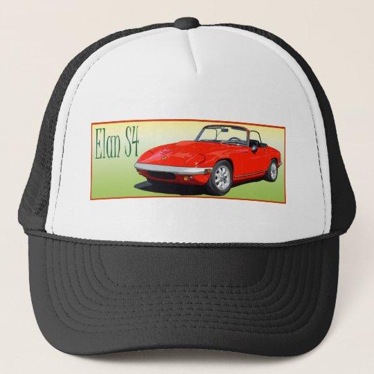 Red Elan S4 Trucker Hat