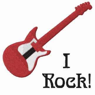 Red Electric Guitar Customizable Shirt 2
