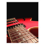 Red Electric Guitar Flyer