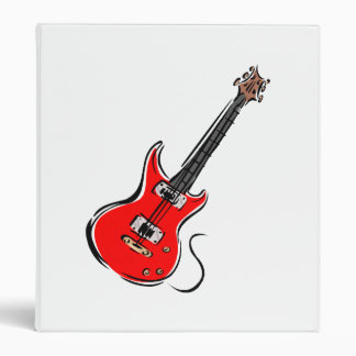 red electric guitar music graphic.png 3 ring binder
