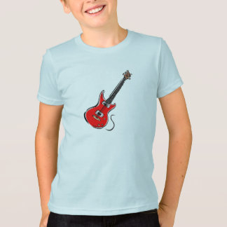 red electric guitar music graphic.png T-Shirt