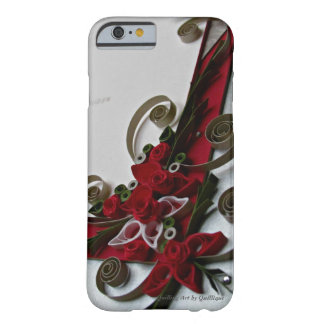 Red Elegance Barely There iPhone 6 Case