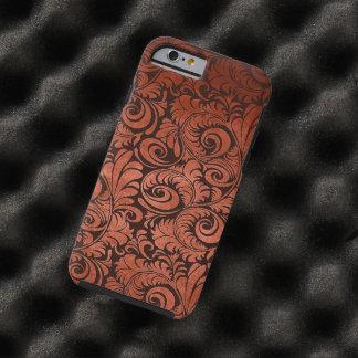 Red Elegant Floral Iphone 6 Tough iPhone 6 Case