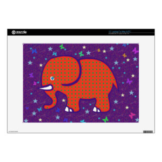"red elephant 15"" laptop decals"