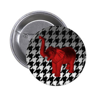 Red Elephant Pin