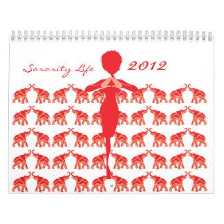 Red Elephant Calendar