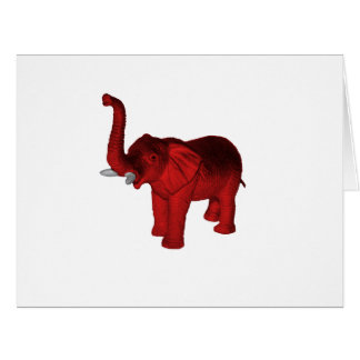 Red Elephant Card