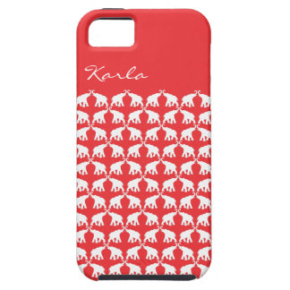 Red Elephant iPhone 5 Cases