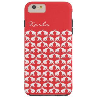 Red Elephant Tough iPhone 6 Plus Case