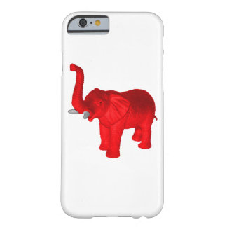Red Elephant Barely There iPhone 6 Case