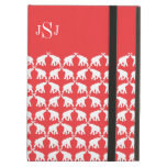 Red elephant case for iPad air