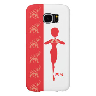 Red Elephant Case-Mate Barely There iPhone 6 Plus Samsung Galaxy S6 Cases