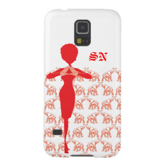 Red Elephant Case-Mate Barely There Samsung Galaxy Galaxy S5 Cover